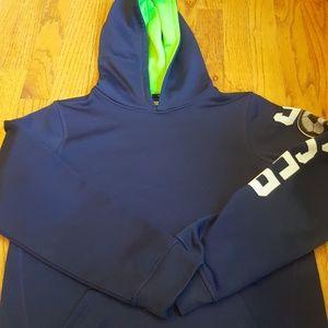 Tek Gear Boys' Soccer Hoodie Navy Blue